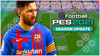 Download eFootball PES 2021 PPSSPP Realistic Graphics Camera PS5 Fix Cursor & Update Jersey And Kits 2022