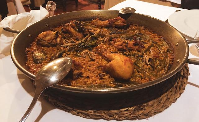 Piatto tipico di Paella Valenciana