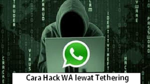 Cara Hack WA lewat Tethering