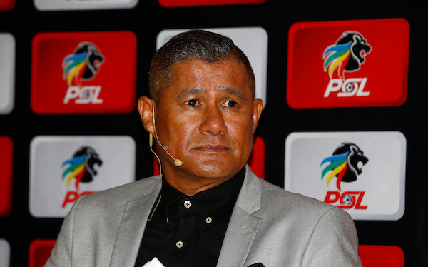 AmaZulu coach Cavin Johnson