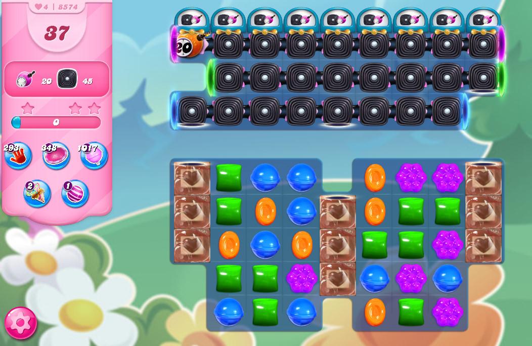 Candy Crush Saga level 8574