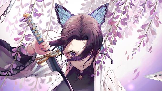 Anime, Shinobu Kochou, Katana
