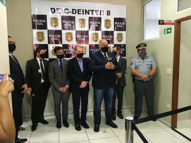Solenidade marca inauguração da Deic-8 em Presidente Prudente  -  Adamantina Notìcias