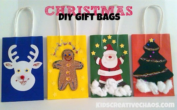 Beautiful Gift Bags Ideas For Christmas
