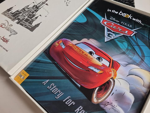 cars-personalised-book