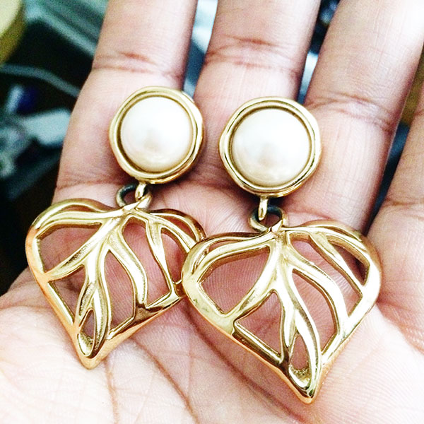 vintage Givenchy earrings, goodwill, shopgoodwill