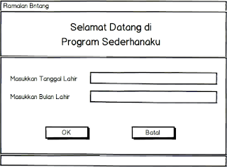 Kelas Informatika - Interface Form Ramalan