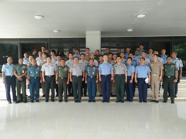 31 Delegasi Joint Staff College Republik Korea Kunjungi Mabes TNI