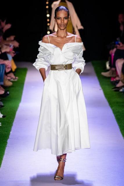 Модное платье весна-лето 2020 42
