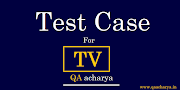 Test Cases For TV ( Television)