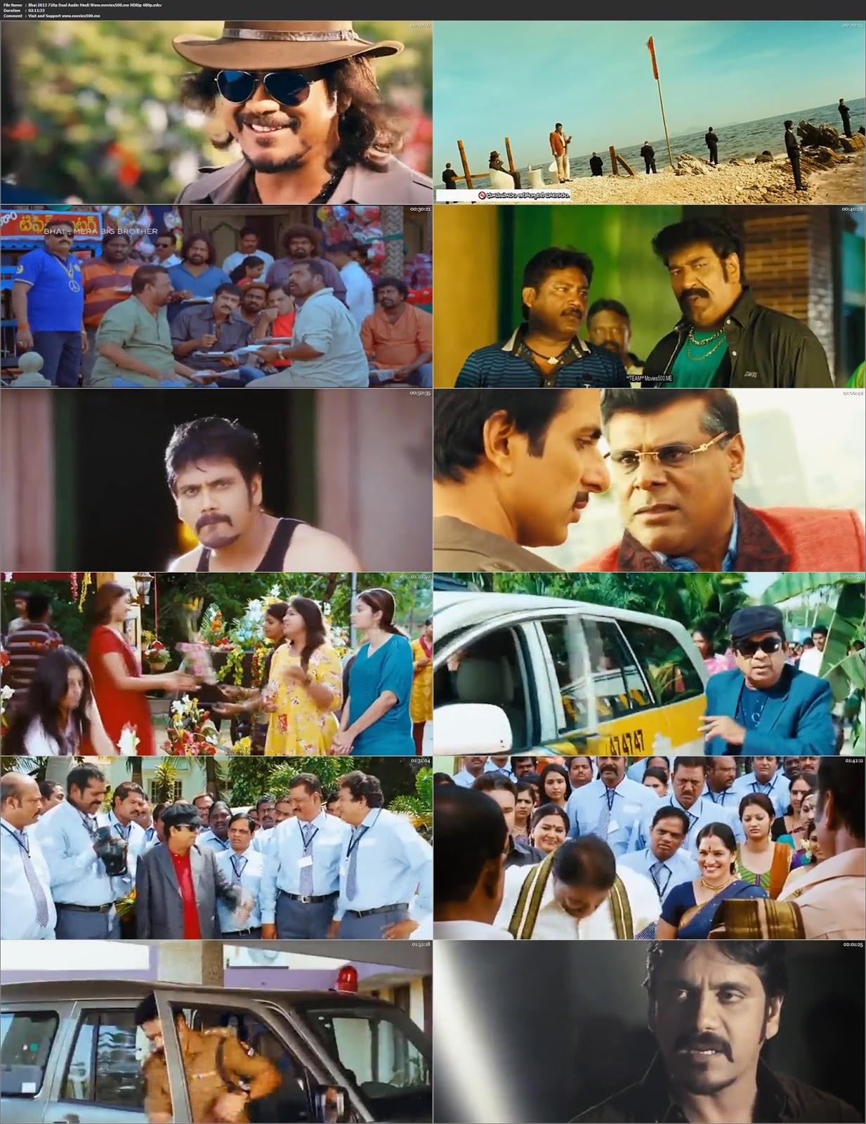 Bhai 2013 Hindi Dubbed 400MB HDRip 480p at movies500.info