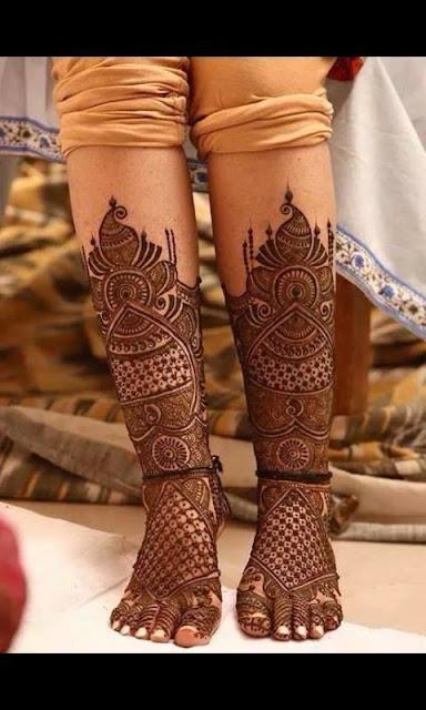 Indian Mehndi Designs For Dulhan