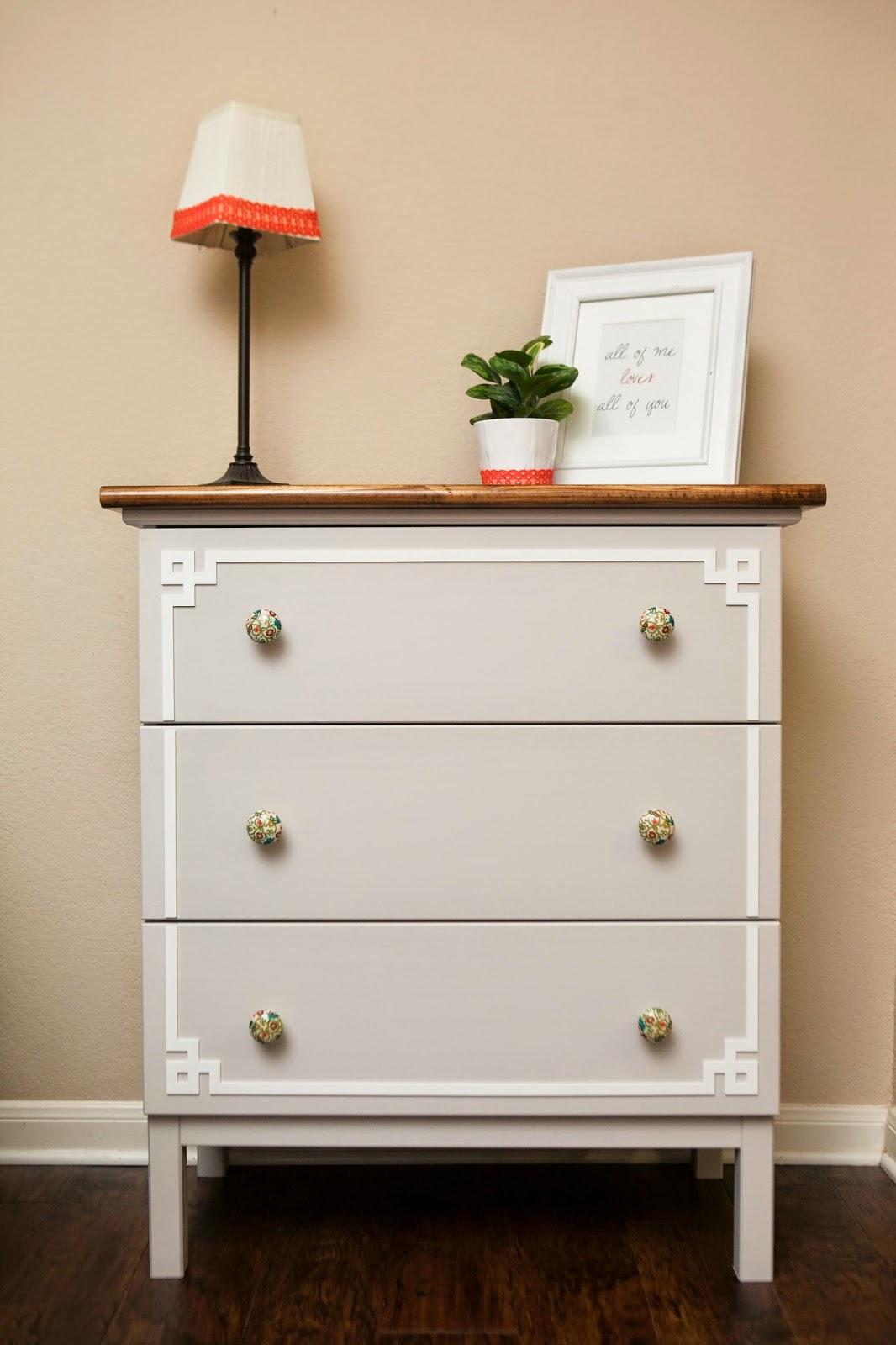 MyBellaBug : Ikea Hack: Tarva Dresser