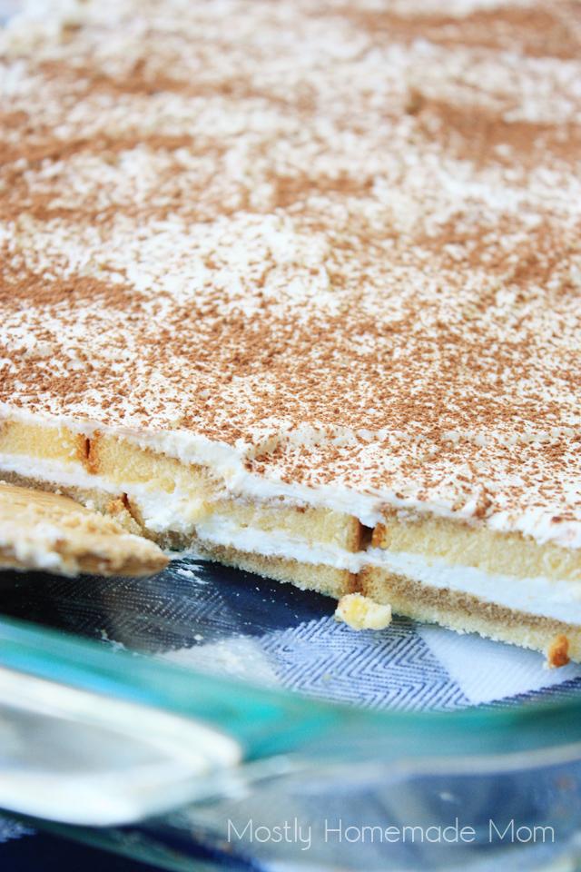 No Bake Tiramisu Cake Recipe
