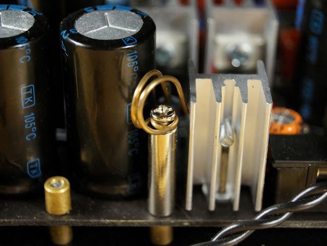 Латунный крепеж для внутренней проводки усилителя