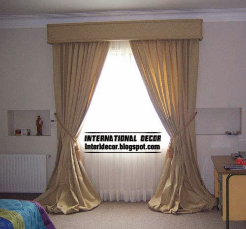 10 Latest Classic curtain designs style for bedroom 2015