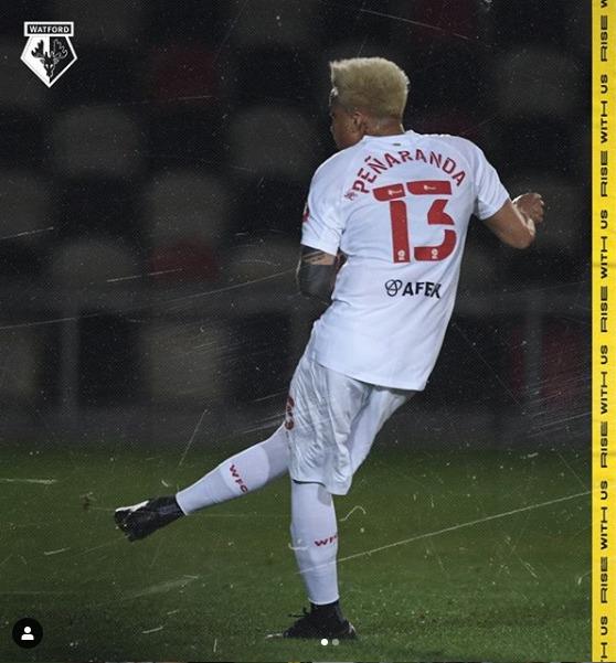 Adalberto Peñaranda marcó su primer gol del año