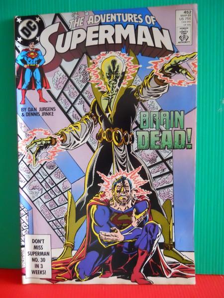 Dexters Diecasts Dexdc Dc Comics 452 The Adventures