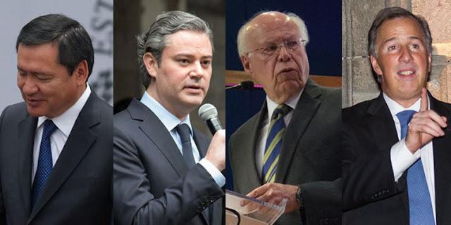 Gamboa solo ve fuertes a Meade, Nuño, Osorio y Narro para ser presidente en 2018