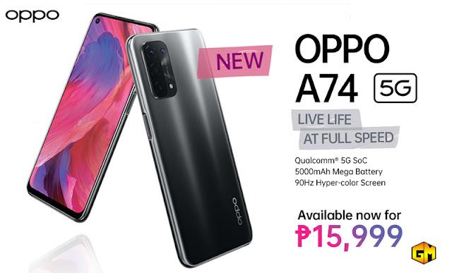 OPPO A Series 5G Gizmo Manila