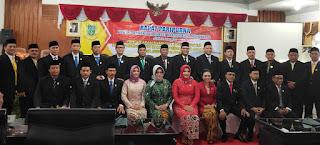 Duet PDI Perjuangan – Partai Golkar Pegang Pimpinan Sementara DPRD Kota Mojokerto