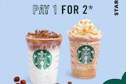 Promo Starbucks Pay 1 For 2 Harga Spesial Hanya Hari Ini