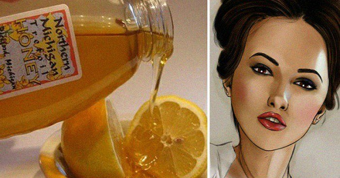 Lemon, Banana And Honey For Wrinkles