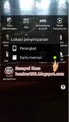 Cara Simpan Foto/Video Secara Otomatis  Ke Memori Card Hp Samsung