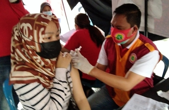 Bantu Percepat Pelaksanaan Vaksin Covid, PPNI Lampura Gelar Vaksin Gratis