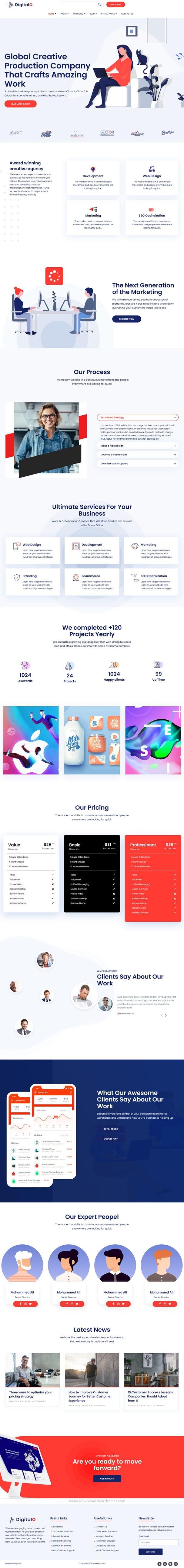 Digital Marketing Strategy Hubspot Theme