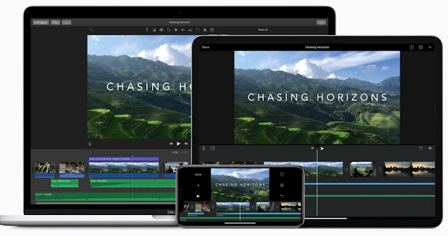 iMovie app video editor for Apple device