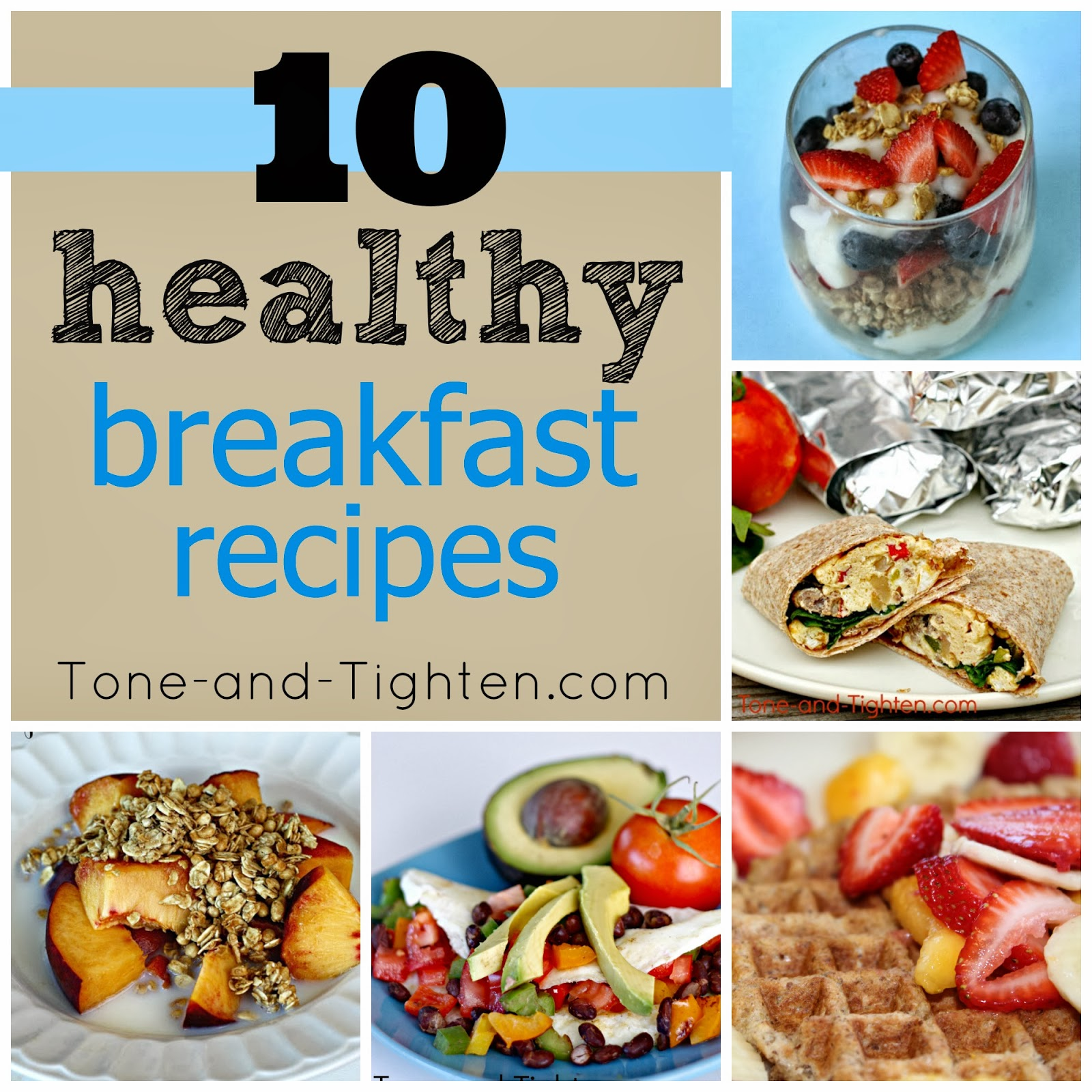 10 Quick And Easy Breakfast Dishes: 10 QUICK Healthy Breakfast Recipes