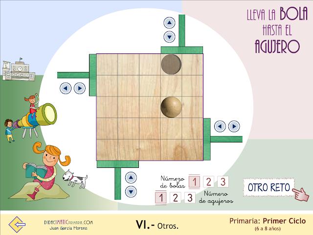 Bolas_agujeros. Un sencillo juego.