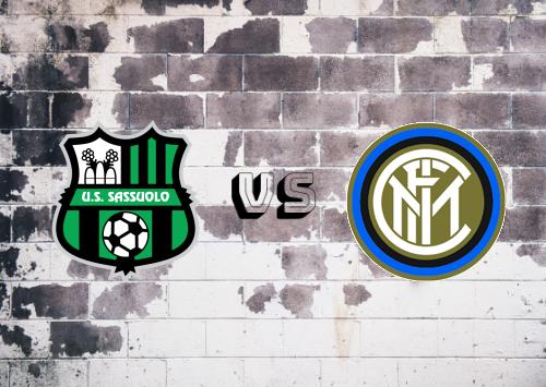 Sassuolo vs Internazionale  Resumen y Partido Completo