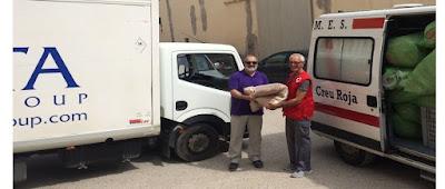 donación de sabanas ropa de cama y almohadas