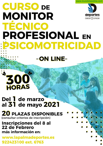 El Cabildo continua su plan de formación deportiva para formar a técnicos en psicomotricidad