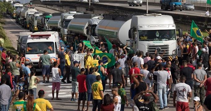 Caminhoneiros preparam protestos neste domingo