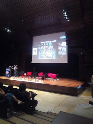 Conferencia sobre música en videojuegos en Gamepolis