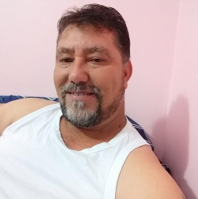 """Nota de falecimento do amigo Gelson Luiz Santos, conhecido """"Urso"""" em Laranjeiras do Sul, vítima da Covid-19"""