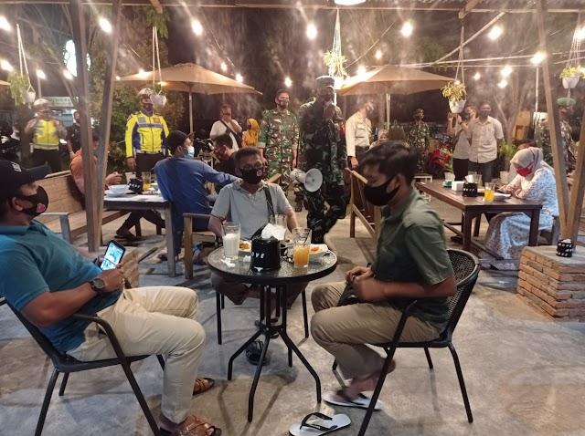Kendalikan Penyebaran Covid-19, Dandim Aceh Barat Getol Laksanakan Patroli Dan Sosialisasi