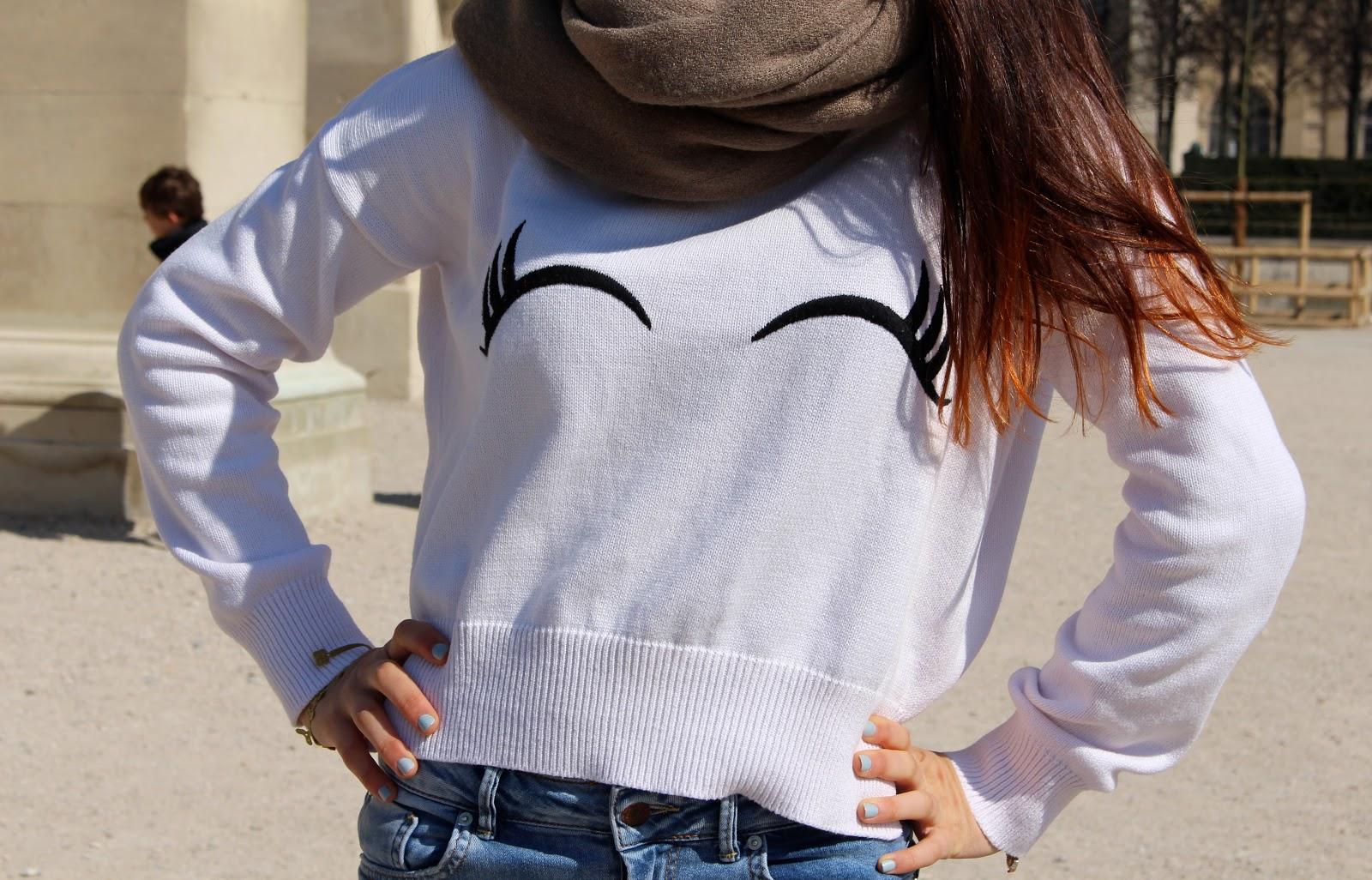 Zara Eye Sweater