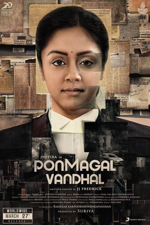 Ponmagal Vandhal 2020 Tamil 720p 1.3GB HDRip