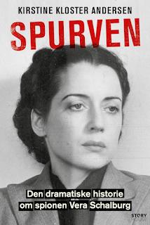 Cover of Spurven: Den dramatiske historie om spionen Vera Schalburg (by Kirstine Kloster Andersen)