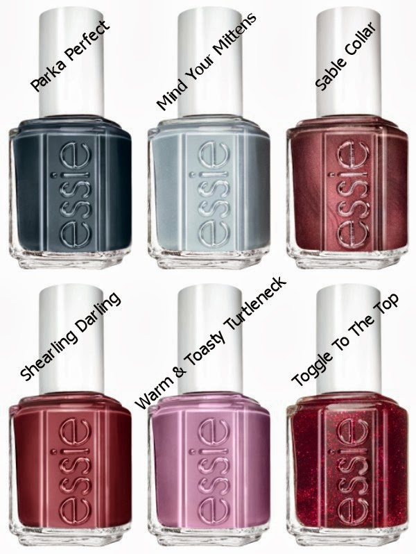 essie Shearling Darling Collection Winter 2013 - All Colours