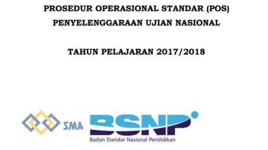 POS UN 2018 SMA, MA, SMK, SMTK, MAK, SMALB, SPUM, SPK, Paket B, Paket C