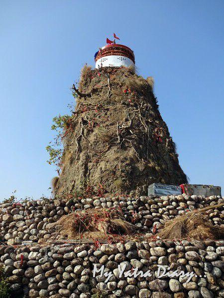 Garjiya Devi Shakti Temple on a hill Uttarakhand