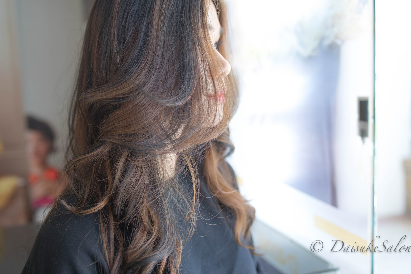 Welcome Japanese Air Wave Perm With Lowlight Colour
