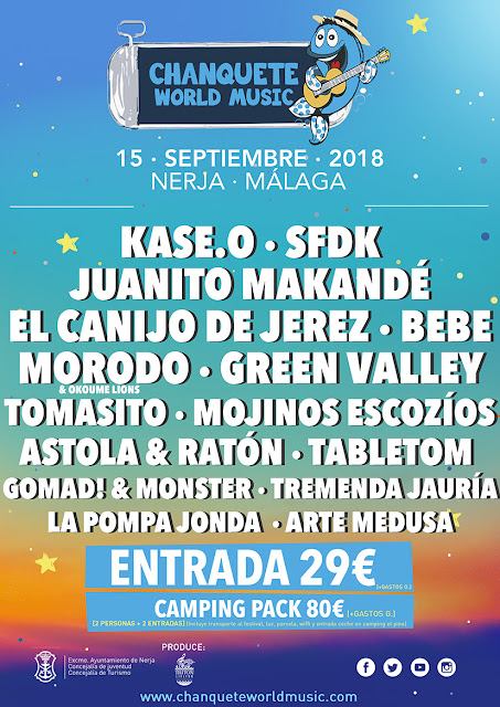 Chanquete World Music Festival 2018