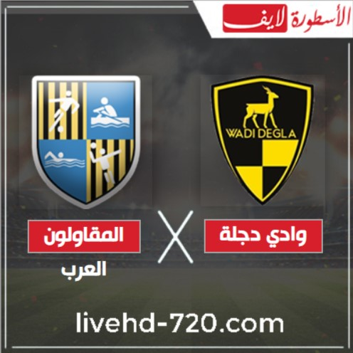 مشاهدة مباراة وادي دجلة والمقاولون العرب بث مباشر