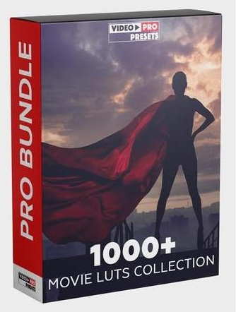 Presets – Video Presets – 1000+ MOVIE LUTS COLLECTION 2020 [CUBE]